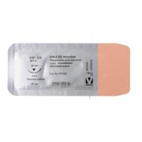 KRUUSE Monofast suture, USP 2-0, 70 cm, needle: 26 mm, reverse cutting, 3/8 circle. 18/pk