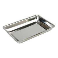 Instrument tray 30x21x4 cm stainless