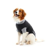 BUSTER Body Suit for dogs, black/grey, 62 cm, size XL