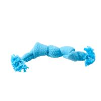 BUSTER Colour Squeak Rope, light blue, small