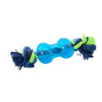 BUSTER Strong Bone w/rope, Ice blue, x-small