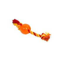 BUSTER Strong Bone w/rope, orange, x-small
