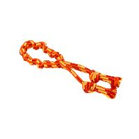 BUSTER Colour Bungee Rope Double Knot, red/orange/yellow, 35 cm