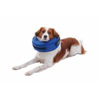 BUSTER inflatable collar blue small