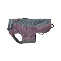 BUSTER regnjakke Steel Grey/Black Plum S