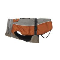 BUSTER vinterjakke Steel Grey/Leather Brown M