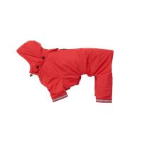 BUSTER Aqua rain coat, red, L