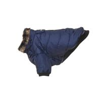 BUSTER Country winter coat, blue black iris, L