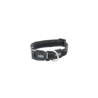 BUSTER Reflective Mesh Collar, Black/Black, M, 25mm (34-50cm)