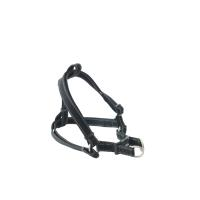 BUSTER Reflective Mesh Step-in Harness, Black/Black, XL, 25mm