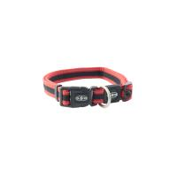 BUSTER Reflective Mesh Collar, Red/Red, XL, 25mm (48-78cm)
