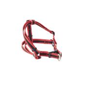 BUSTER Reflective Mesh Step-in Harness, Red/Red, M, 25mm