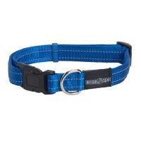 BUSTER reflective collar, adjustable, 10x280-400 mm, blue