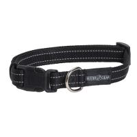 BUSTER reflective collar, adjustable, 15x280-400 mm, black