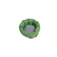 BUSTER Cocoon bed 75 cm, artichoke green/steel grey