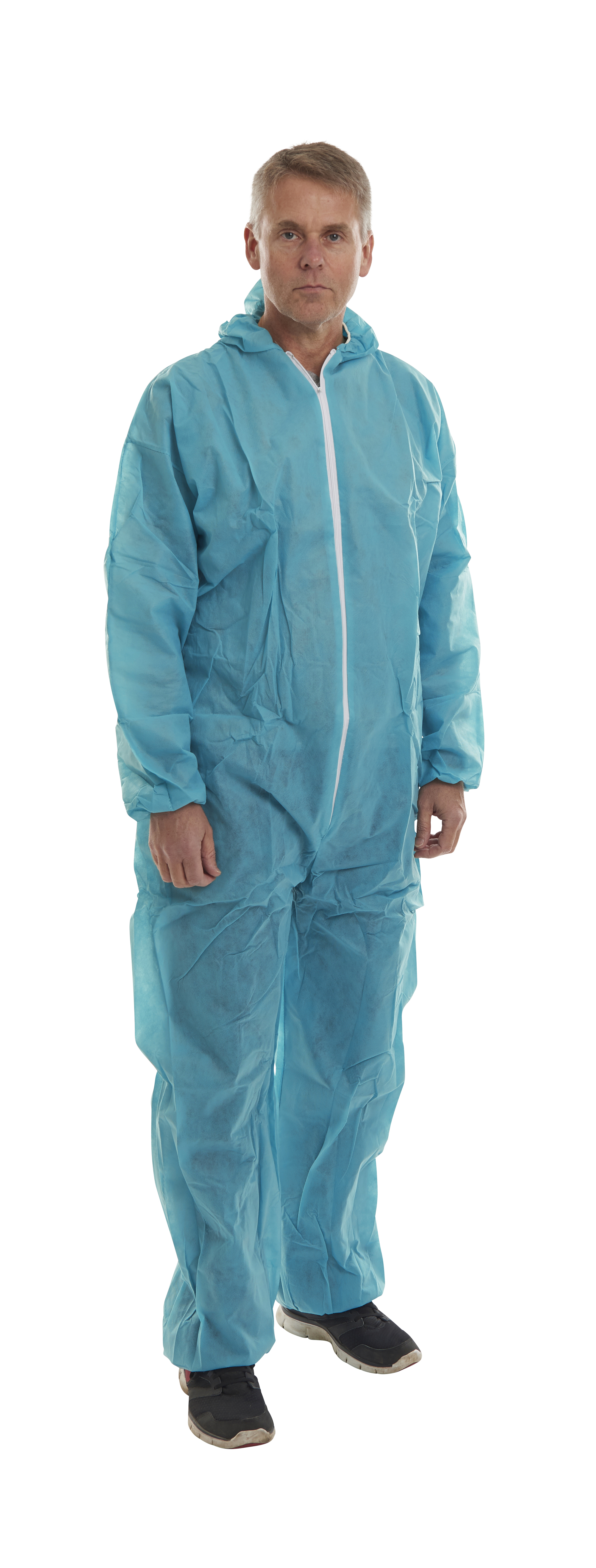 KRUTEX disposable suit, green, S