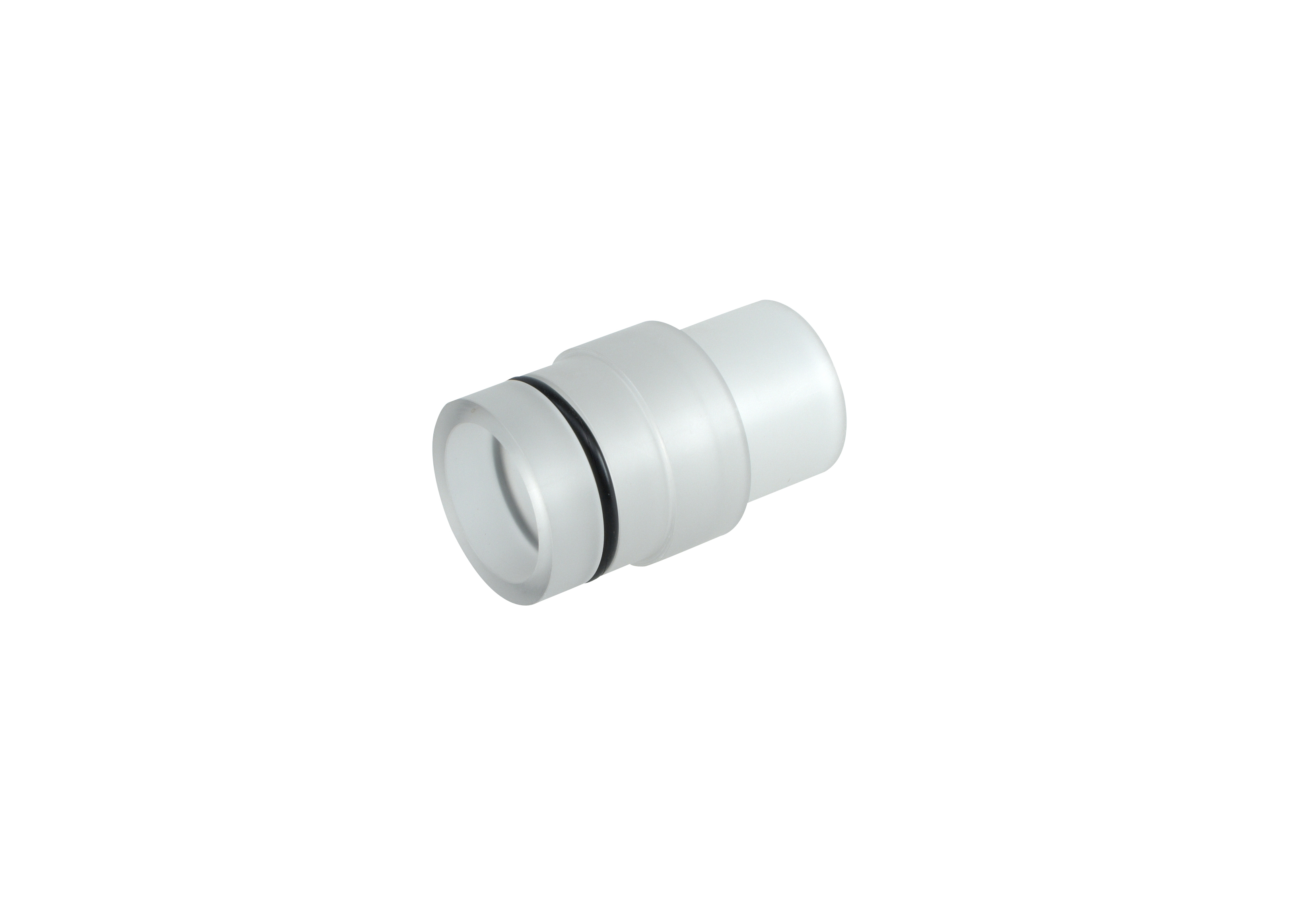 KRUUSE Plastikk connector,  35 mm til trachealtube