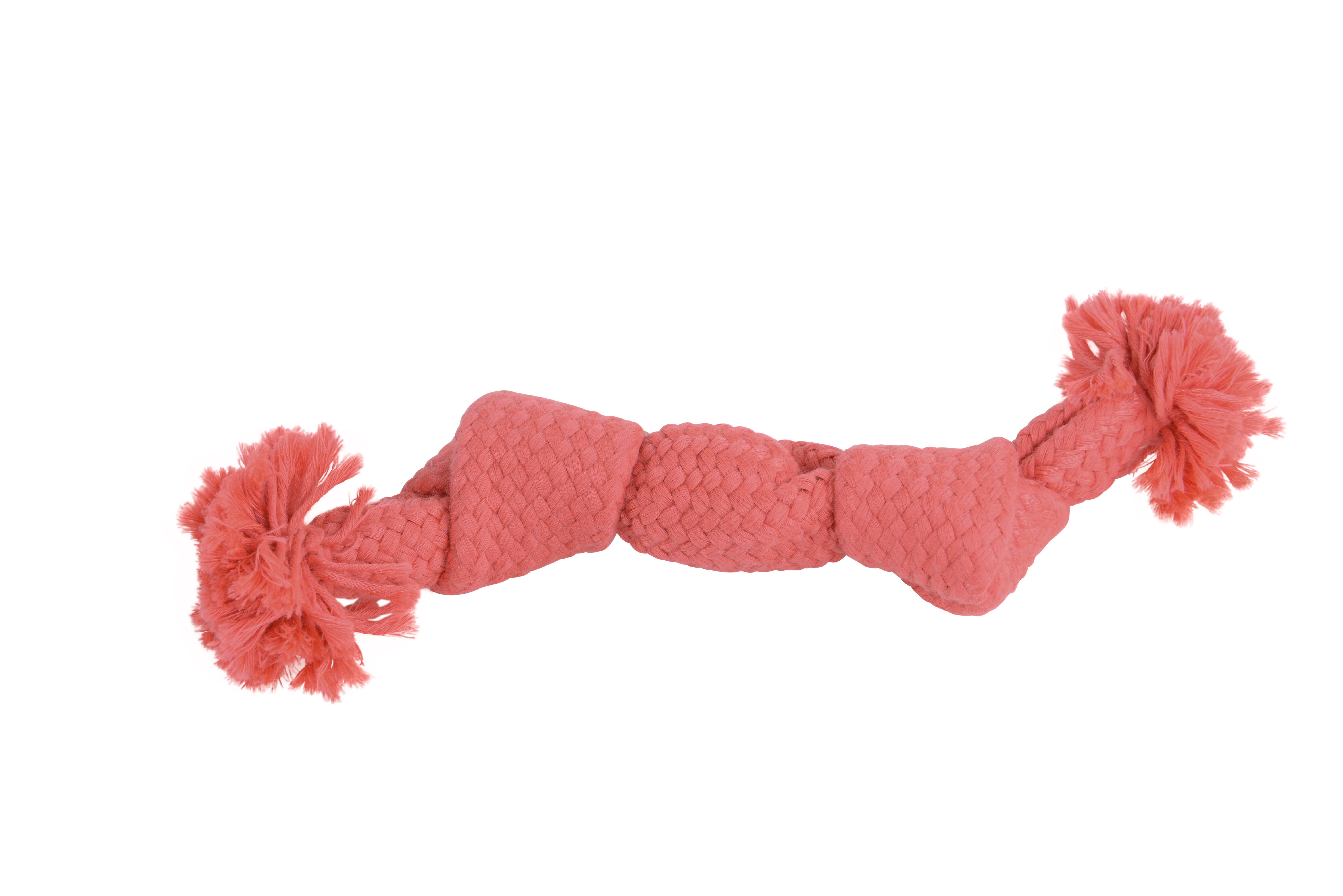 BUSTER Colour Squeak Rope, pink, 23 cm, S