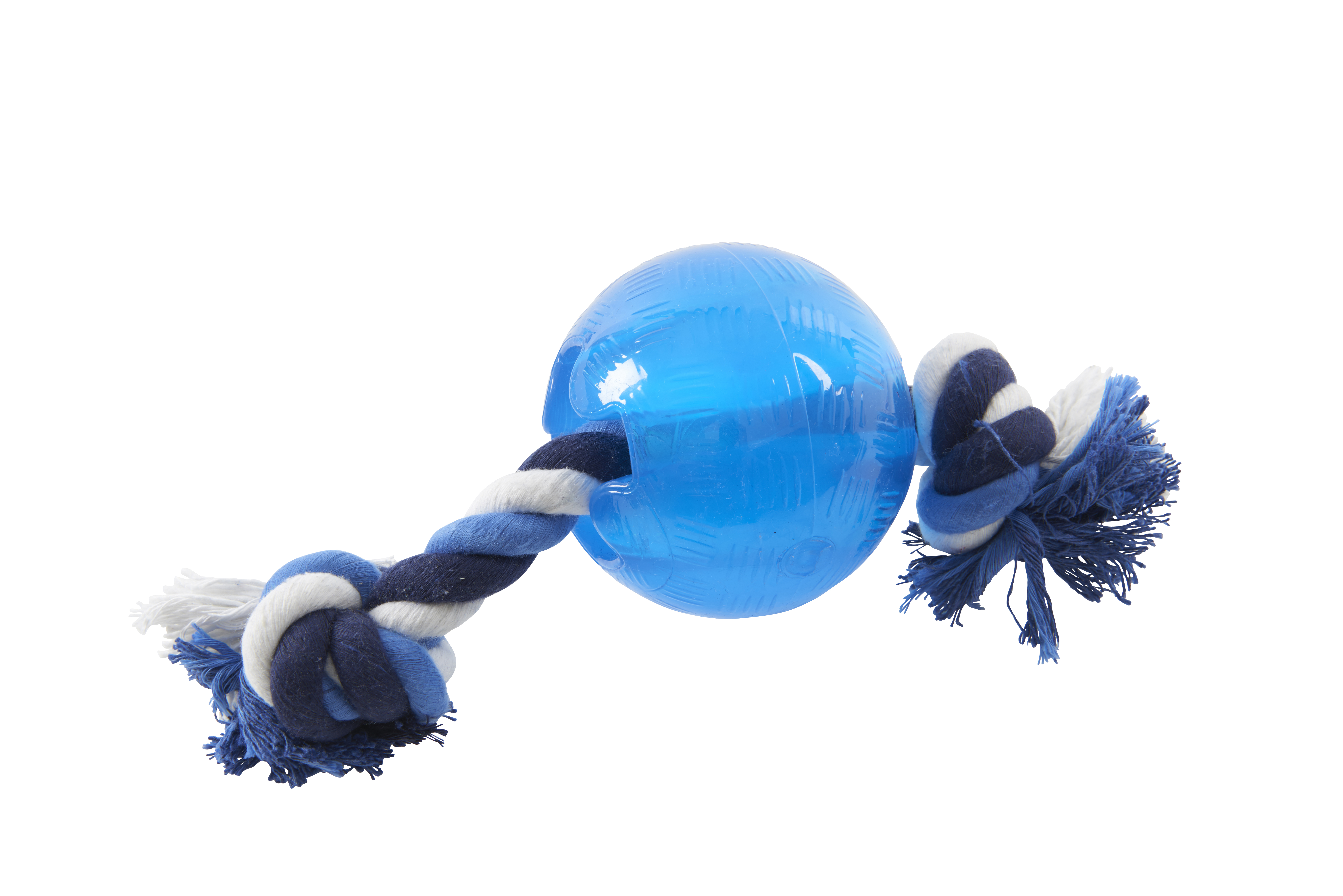 BUSTER Strong Ball w/rope, Ice Blue, L