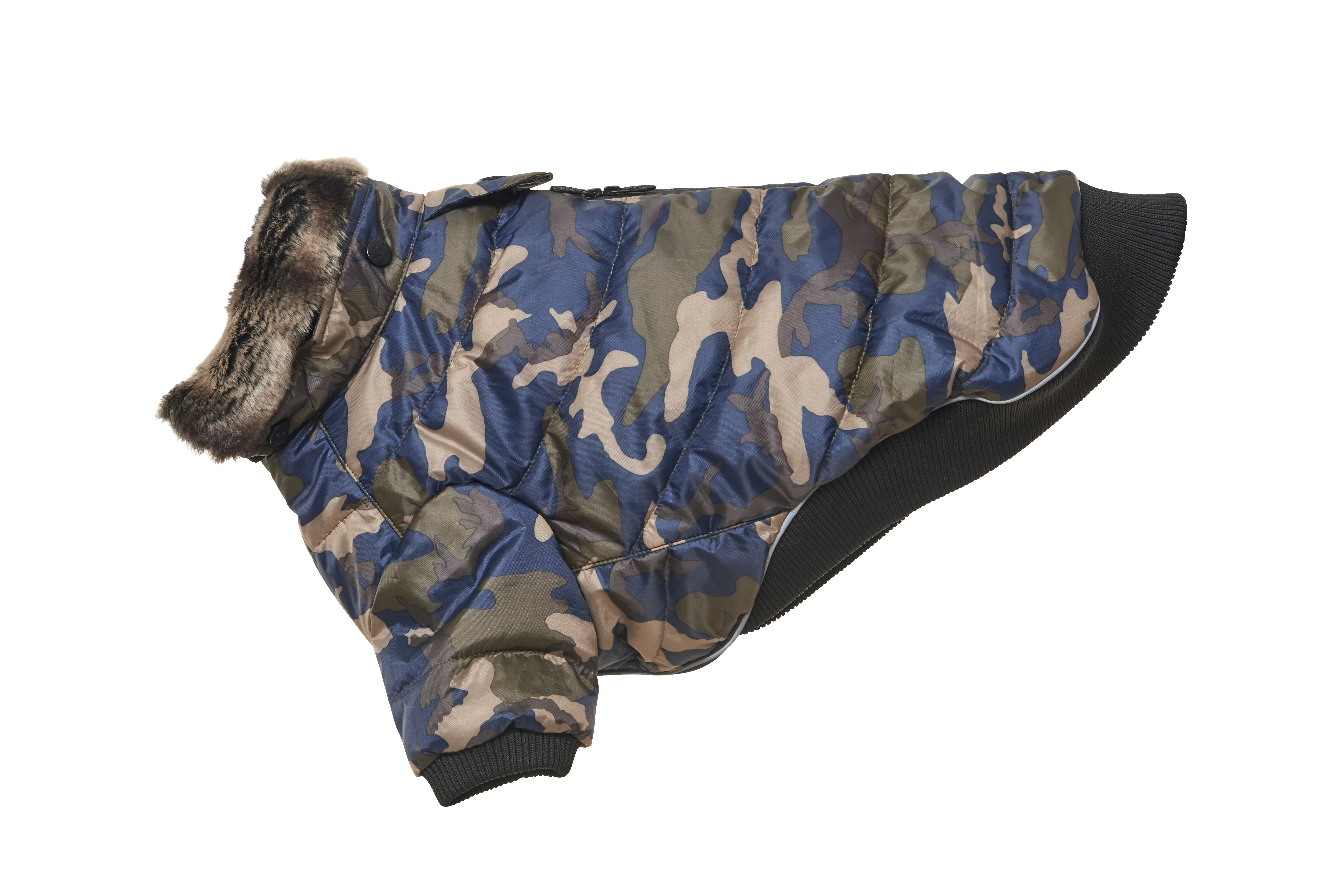 BUSTER Country winter jacket Camouflage, XXL