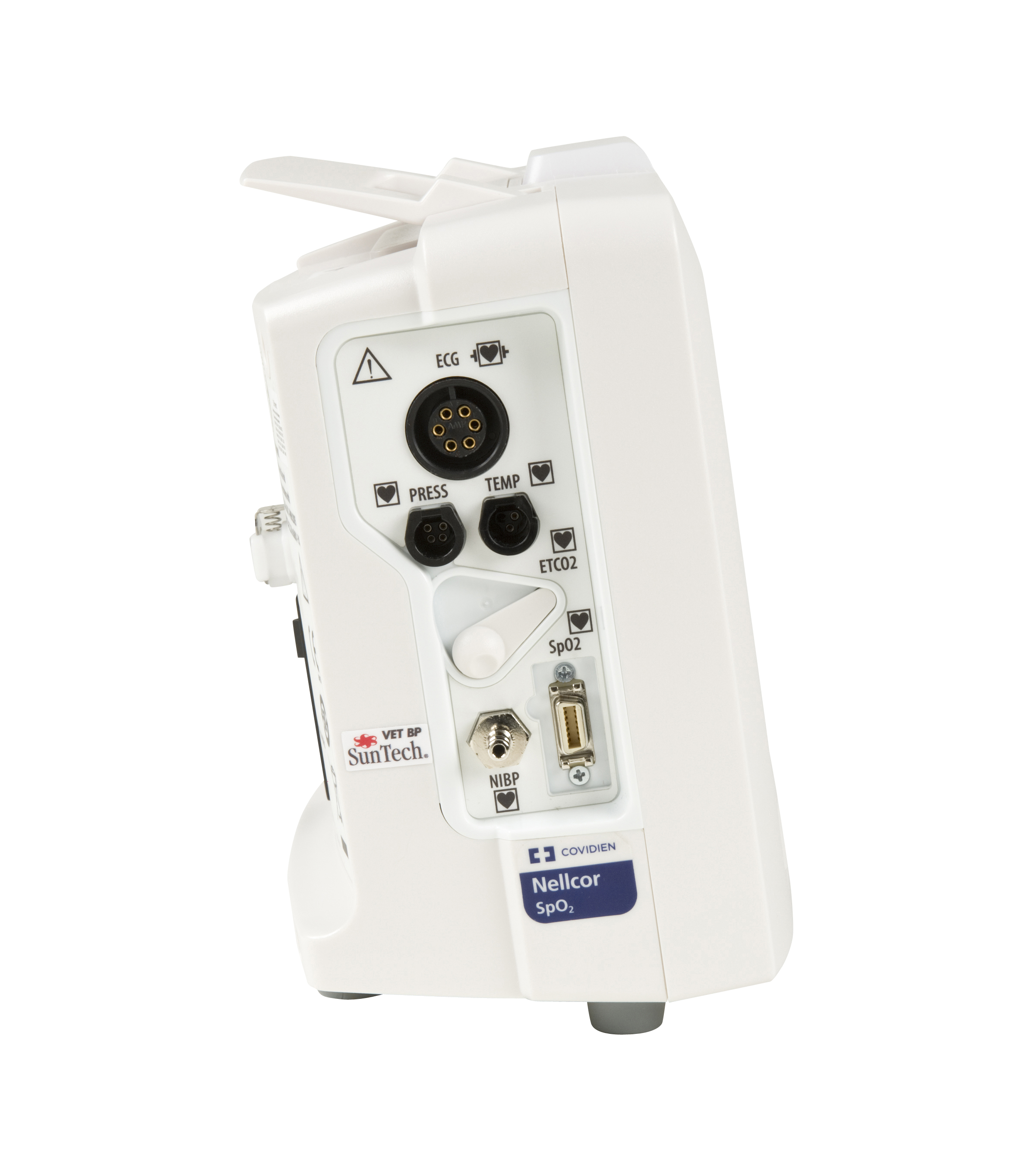 HS-VPM15 Vet Patient Monitor with 1 hour Battery, Printer, EtCo2 connector, EU standard Power cord