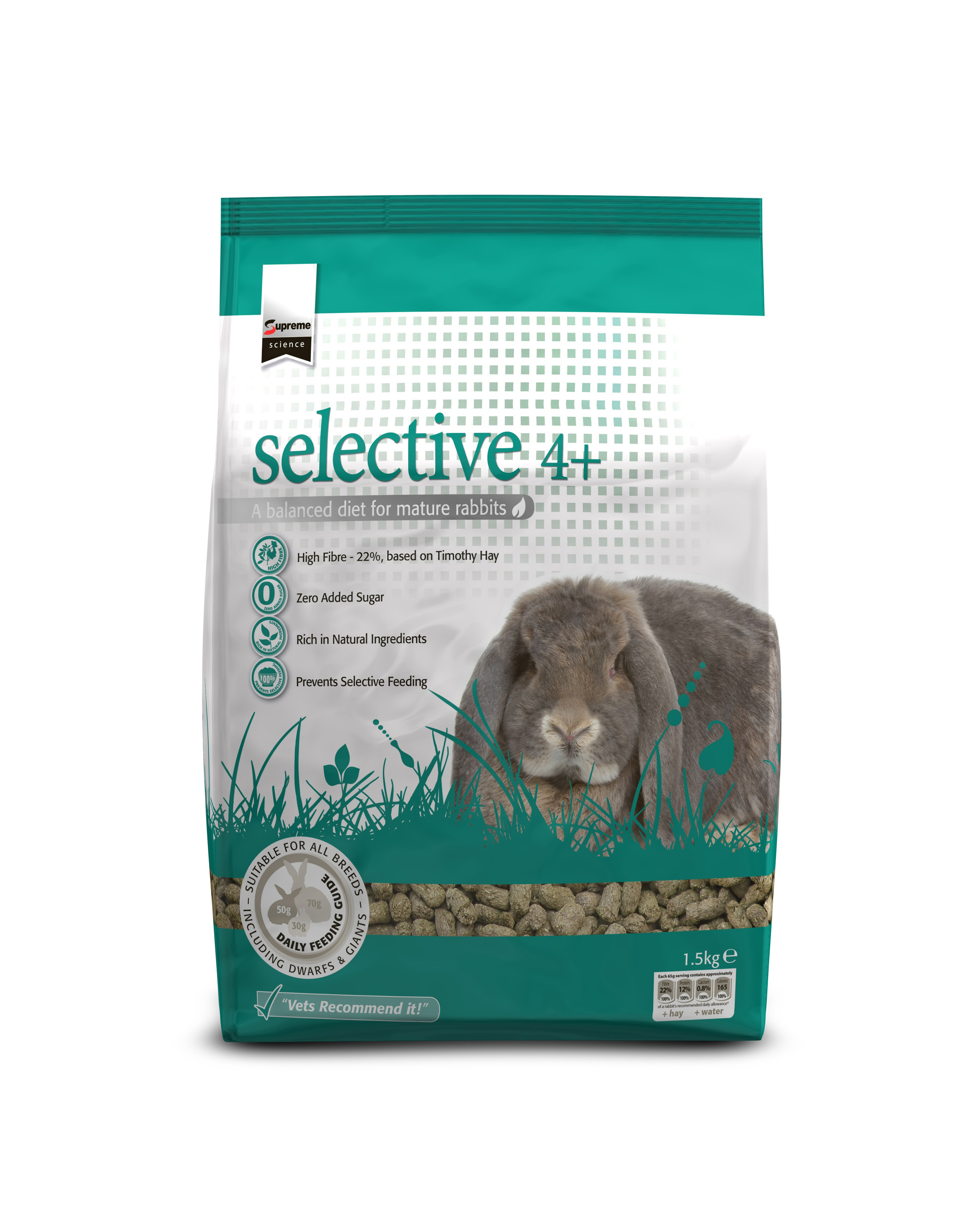 Supreme Science®Selective rabbit 4 years+ 1,5 kg. (kanin)